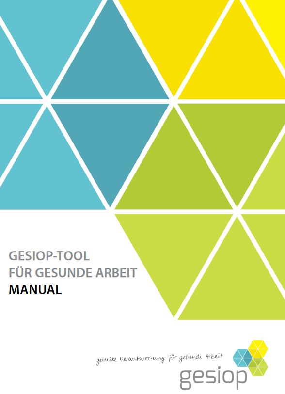 Analyse BGM - Gesiop-Tool für gesunde Arbeit