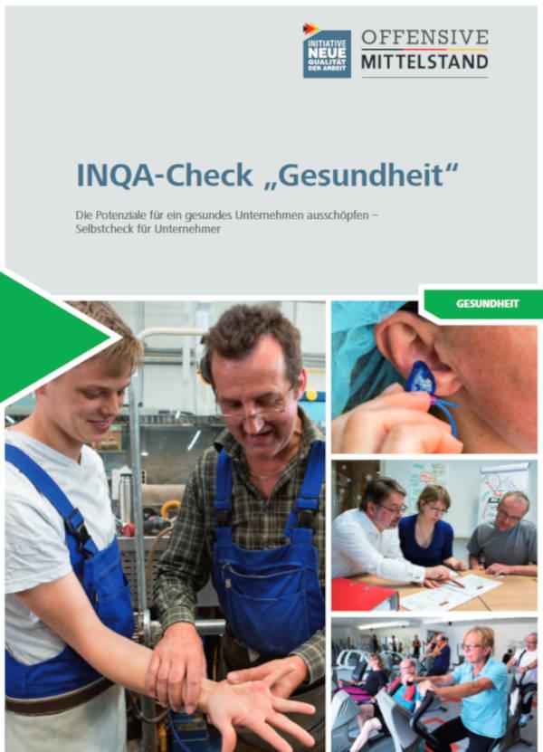 Analyse BGM - INQA-Check Gesundheit